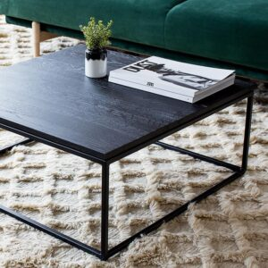 thin coffee table black_ Ethnicraft_ DoSouth