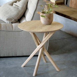 twist side table ethnicraft do south