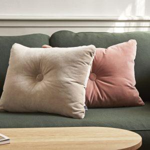 Dot Cushion Soft 1 dot soft rose_Dot Cushion Soft 1 dot soft beige_CAN 2 Seater Steelcut 975